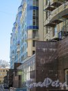 Дивенская улица, дом 5, литера А. Левая часть жилого комплекса «Серебряные зеркала» по Дивенской улице. Общий вид здания. фото май 2018 г.