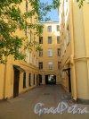 Жуковского ул., д. 37. Доходный дом. Дворовый фасада. фото май 2018 г.