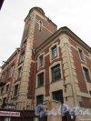 Тамбовская улица, дом 63, литера А. Башня обсерватории Лиговского Народного дома графини Паниной. Фото 17 февраля 2020 г.