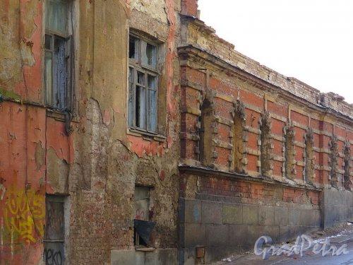 Красноармейская ул. (Выборг), д. 10а. Фрагмент дома. фото май 2017 г.
