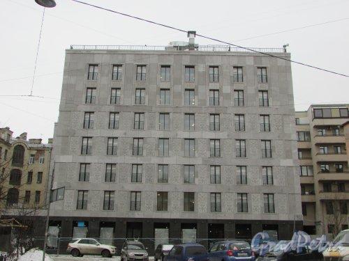 10-я Советская улица, дом 8. ЖК «Veren Place». Корпус со стороны улицы Моисеенко. Фото 2 марта 2019 года.