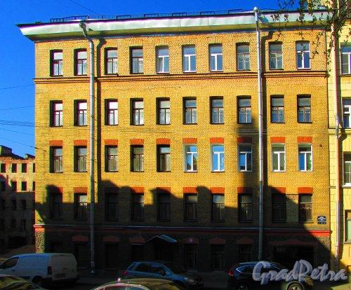 Малая Разночинная улица, дом 3, литера А. Фасад здания. Фото 1 мая 2016 года.