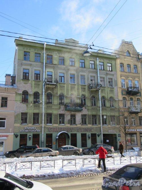 Черняховского ул., д. 53. Общий вид фасада. фото февраль 2018 г.