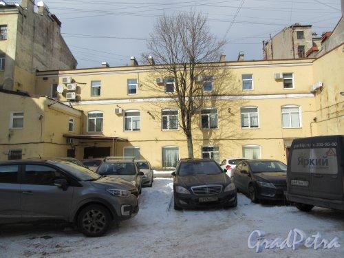 Ул. Чапаева, д. 2. 2-й проходной двор. Общий вид. фото март 2018 г.