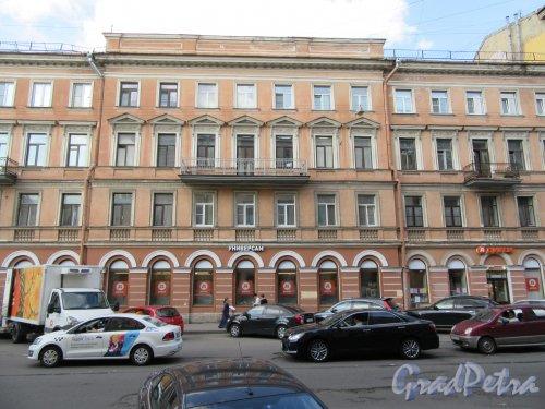 Ул. Жуковского., д. 4 (правая часть). Доходный дом. Общий вид фасада. фото май 2018 г.