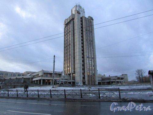 Кантемировская улица, дом 12, литера А. Здание ОКБ «Радуга». Фото 8 декабря 2019 года.