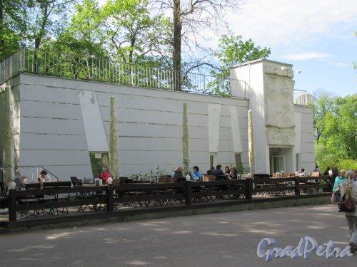 Елагин остров (улица), д. 4, лит. Х. Кафе «Нота», 1962-1965. Общий вид. фото май 2018 г.