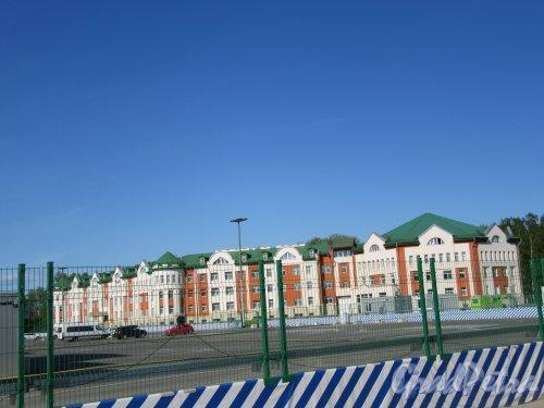 Северная дорога, д. 12, к. Б. Гостиница «Отель Парк», 2009. Общий вид фасада. фото май 2018