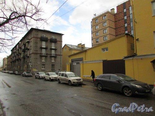 Перспектива Прилукской улицы в сторону Тамбовской улицы. Фото 17 февраля 2020 г.