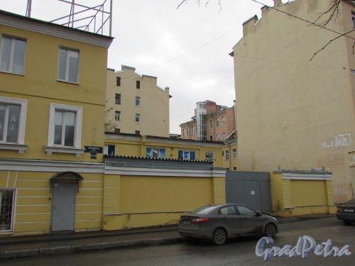 Прилукская улица, дом 21-23, литера А. Ограждение участка со стороны Прилукской улицы. Фото 17 февраля 2020 г.