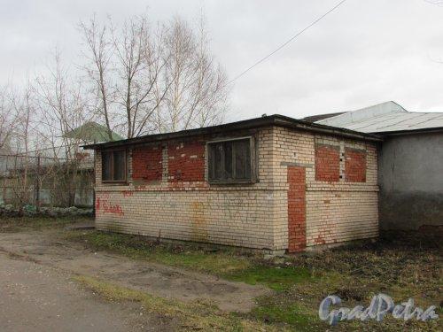 Расстанная улица, дом 20, литера И. Типовое здание общественного туалета. Фото 17 февраля 2020 г.