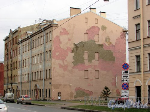 Тамбовская улица, дом 58. Общий вид жилого дома. Фото 17 февраля 2020 г.
