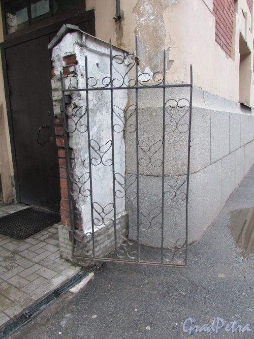 Тамбовская улица, дом 63. Калитка в ограде со стороны Прилукской улицы. Фото 17 февраля 2020 г.