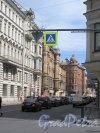Участок улицы Некрасова на участке между улицей Восстания и улицей Радищева. фото июнь 2018 г.