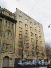 Одесская улица, дом 2. Фасад жилого дома со стороны Очаковской улицы. Фото 7 мая 2020 г.