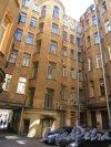 Кирочная ул., д. 6. Доходный дом И. М. Екимова. Дворовый фасад. фото июнь 2018 г.