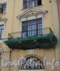 Фурштатская ул., д. 7. Балкон. Фото май 2010 г.