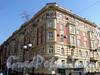 Фурштатская ул., д. 9. Доходный дом при евангелическо-лютеранской церкви Св. Анны. Общий вид здания. Фото май 2010 г.