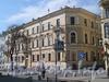 Фурштатская ул., д. 10 / Друскеникский пер., д. 1. Доходный дом В.П. Орлова-Давыдова. Общий вид здания. Фото май 2010 г.