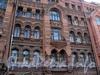 Фурштатская ул., д. 11. Доходный дом 3.М. и А.А. Зайцевых. Фрагмент фасада. Фото май 2010 г.