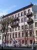 Фурштатская ул., д. 16. Фасад здания. Фото май 2010 г.