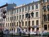 Фурштатская ул., д. 18. Фасад здания. Фото май 2010 г.
