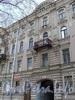 Фурштатская ул., д. 25. Фрагмент фасада здания. Фото май 2010 г.
