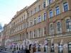 Фурштатская ул., д. 33. Фрагмент фасада здания. Фото май 2010 г.