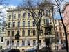 Фурштатская ул., д. 36 (левый корпус). Фасад здания. Фото май 2010 г.