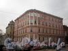 Фурштатская ул., д. 36. Общий вид углового и левого корпусов. Фото март 2010 г.