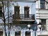 Фурштатская ул., д. 42. Решетка балкона. Фото май 2010 г.