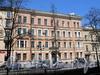 Фурштатская ул., д. 48 (левая часть). Фасад здания. Фото май 2010 г.