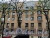Серпуховская ул., д. 18. Фрагмент фасада здания по Клинскому проспекту. Фото май 2010 г.