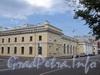 Потемкинская ул., д. 1. Здание манежа Кавалергардского полка. Вид от Захарьевской улицы. Фото май 2010 г.