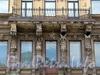 Потемкинская ул., д. 7. Доходный дом В.П. Лихачева. Фрагмент фасада корпуса по Потемкинской улице. Фото май 2010 г.