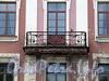 Потемкинская ул., д. 9. Решетка балкона. Фото май 2010 г.