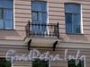 Потемкинская ул., д. 13. Решетка балкона. Фото май 2010 г.