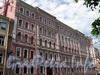 Потемкинская ул., д. 11 / Фурштатская ул., д. 47. Фасад по Потемкинской улице. Фото май 2010 г.