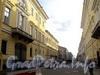 Перспектива Галерной улицы от Сенатской площади в сторону площади Труда. Фото июнь 2010 г.
