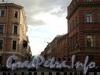 Перспектива Галерной улицы от площади Труда в сторону набережной Ново-Адмиралтейского канала. Фото июнь 2010 г.