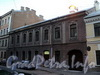 Галерная ул., д. 58-60. Левый корпус комплекса. Фасад здания. Фото июнь 2010 г.