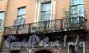 Галерная ул., д. 69-71. Решетка балкона. Фото июнь 2010 г.