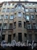 Захарьевская ул., д. 9. Фрагмент фасада дворового корпуса. Фото июль 2010 г.