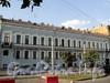 Захарьевская ул., д. 10. Фасад здания. Фото июль 2010 г.