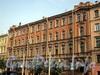 Захарьевская ул., д. 13. Фасад здания. Фото июль 2010 г.