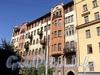 Захарьевская ул., д. 16 / пр. Чернышевского, д. 6. Фасад по улице. Фото июль 2010 г.