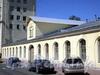 Захарьевская ул., д. 22. Правый корпус. Здание Михайловской военной артиллерийской академии. Фрагмент фасада. Фото июль 2010 г.