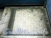 Захарьевская ул., д. 23. Доходный дом Л. И. Нежинской. Керамическая плитка на площадке между лестничными пролетами. Фото июль 2010 г.