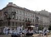 Захарьевская ул., д. 25 / пр. Чернышевского, д. 7. Фасад по улице. Фото июль 2010 г.