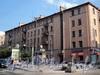 Захарьевская ул., д. 27 / пр. Чернышевского, д. 10. Фасад по улице. Фото июль 2010 г.